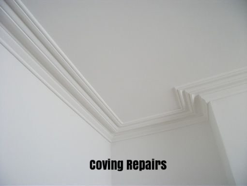 Coving Repairs by Handyman Wirral