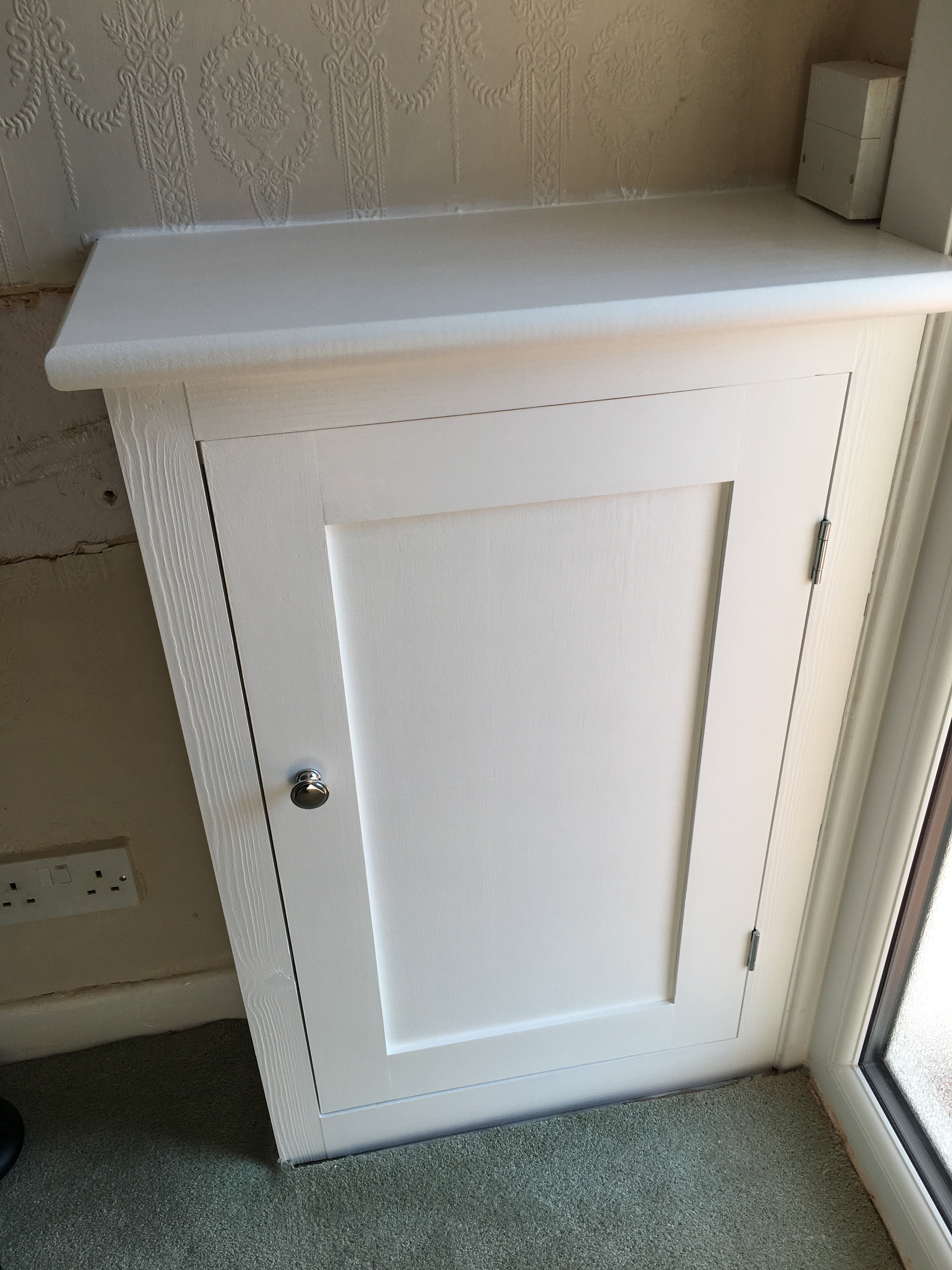 Wirral Handyman Hand Made Electric Cupboard