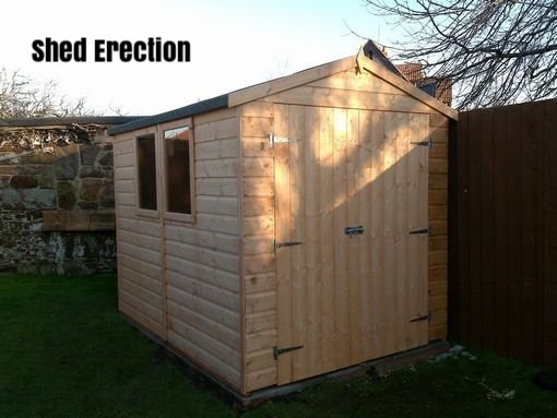 Wirral Shed Erection
